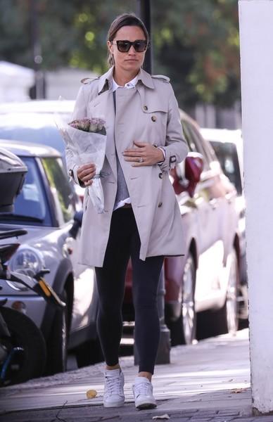Сестра Кейт Миддлтон любит одежду пастельных тонов