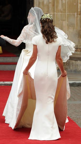 На свадьбе сестры Пиппе досталась роль подружки невесты