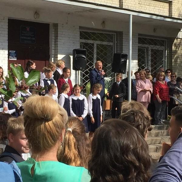 Милонов выступил с речь в День знаний