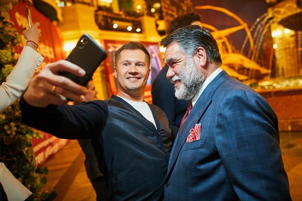 Алексей Немов и Михаил Куснирович