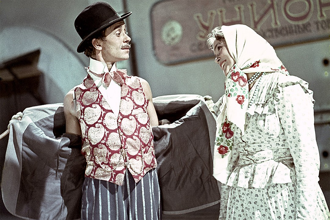 Кадр из фильма «За двумя зайцами», 1961 г. Фото: GLOBAL LOOK PRESS