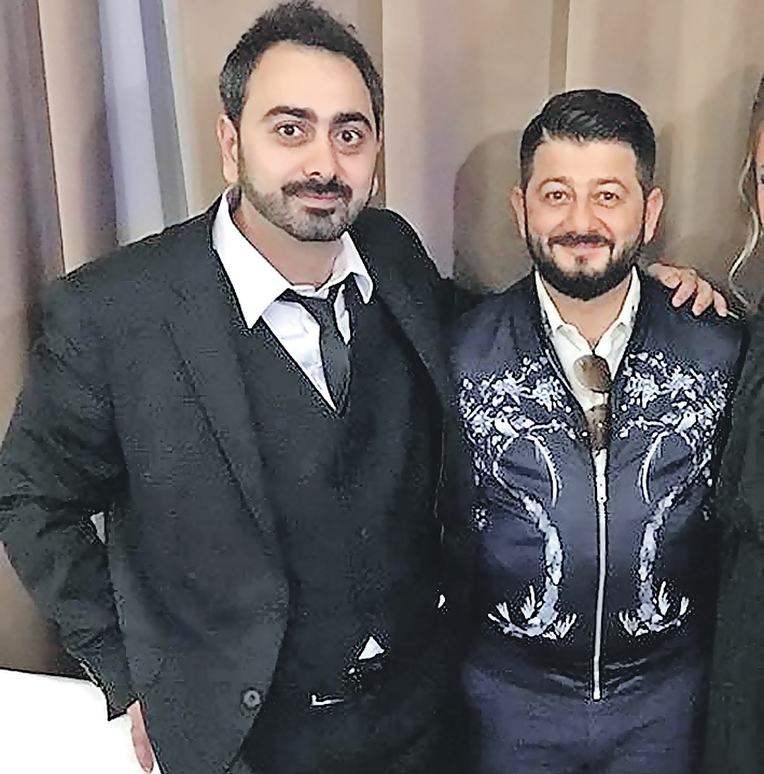 Михаил Галустян и брат Давид. Фото: instagram.com