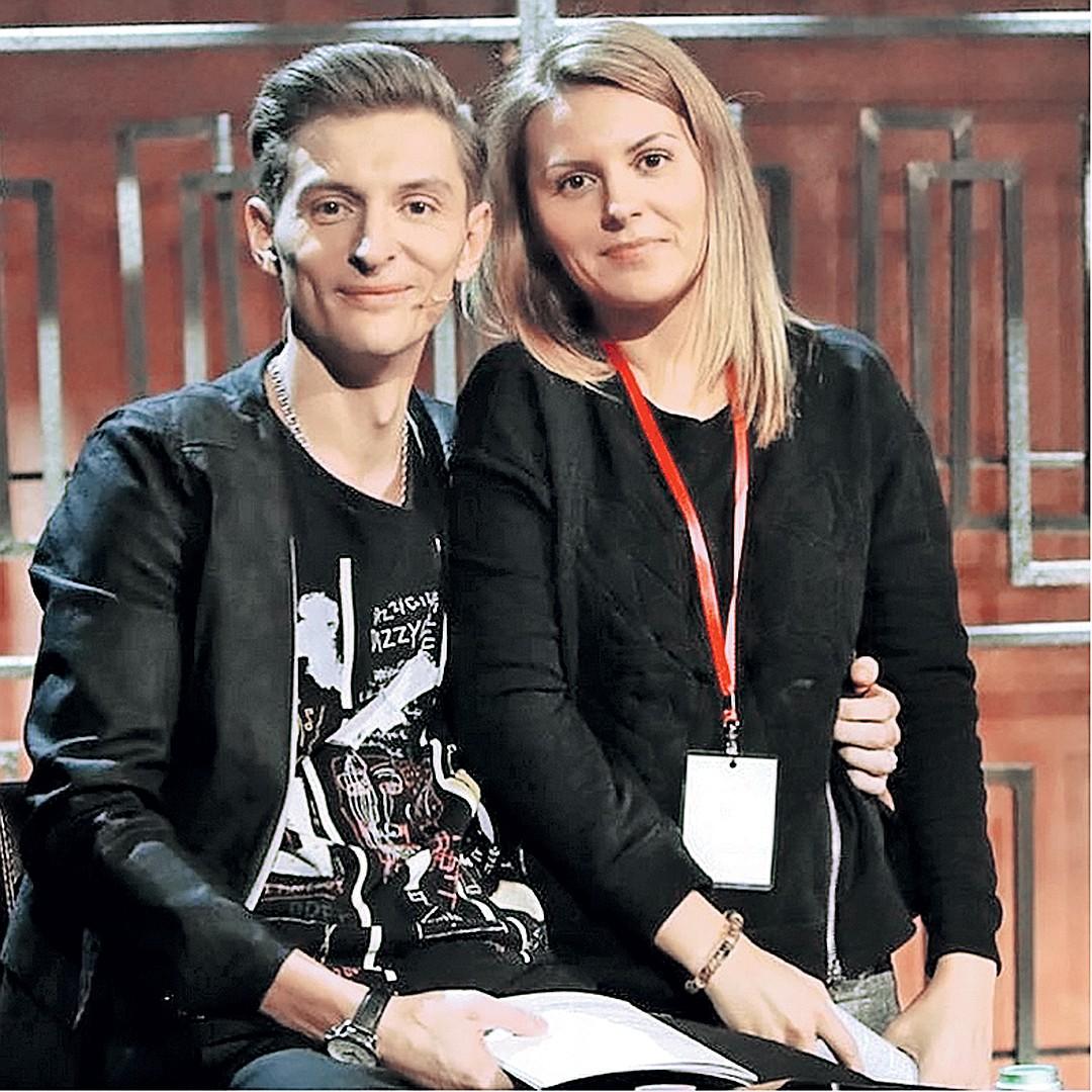 Павел Воля и сестра Ольга. Фото: instagram.com