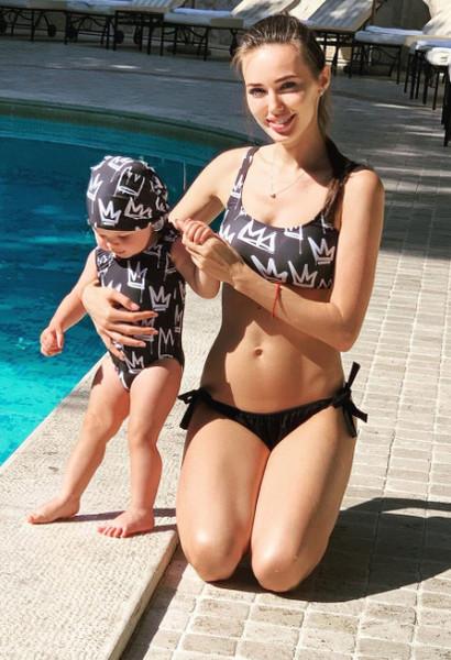 Костенко в восторге от family look