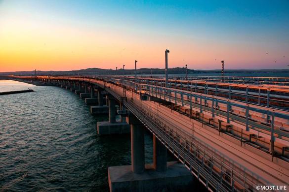 Крымский мост открылся в мае прошлого года. Фото: most.life