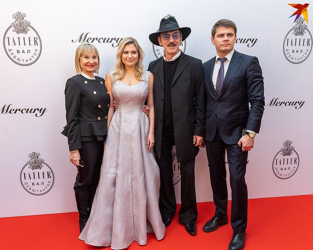Лариса Луппиан, Катерина, Михаил и Сергей Боярские. Фото: Михаил ФРОЛОВ