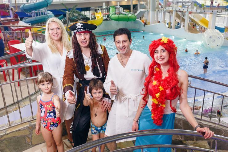 Семейство Макарских любит водные виды развлечений