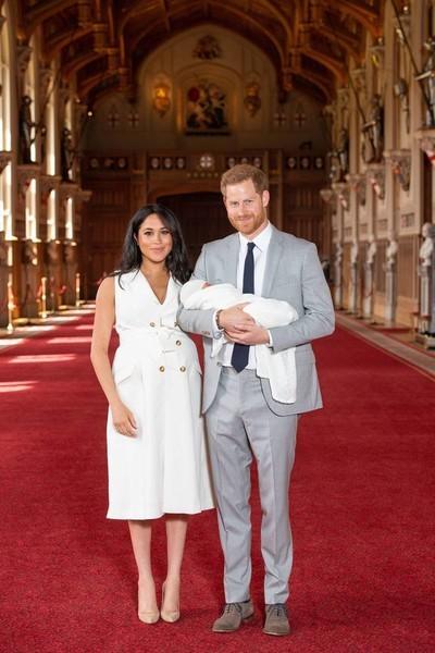 Маркл родила принцу Гарри сына Арчи