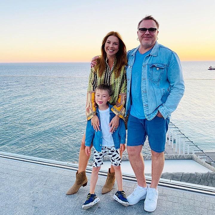 Владимир Пресняков и Наталья Подольская с сыном наслаждаются отдыхом в Крыму