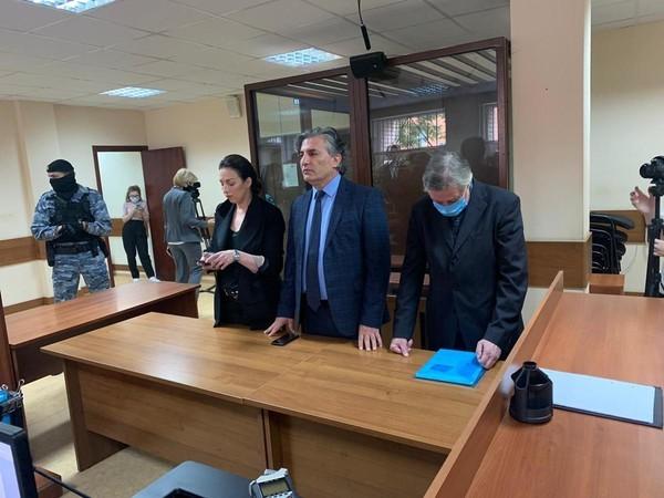 Ефремов во время оглашения приговора