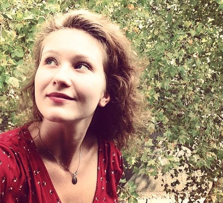 Актриса Яна Гладких