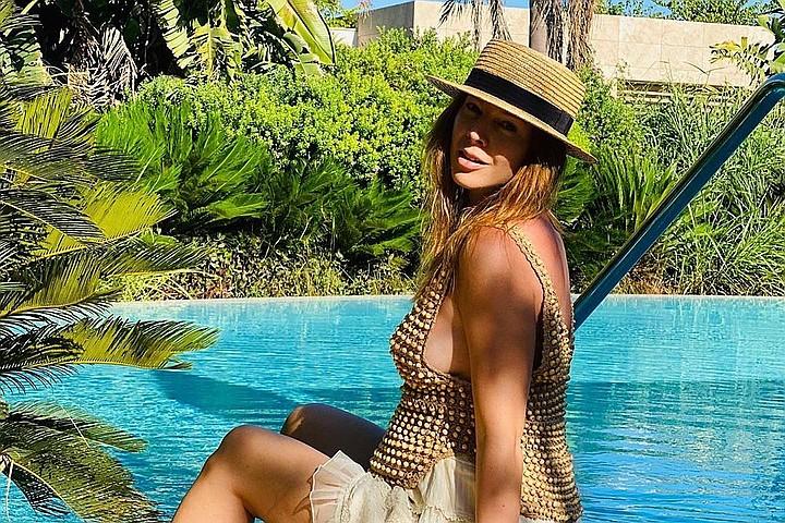Друзья считают, что Наталья Подольская в эту беременность похорошела — выглядит великолепно