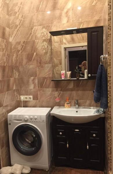 Ванная комната в квартире Легкоступовой