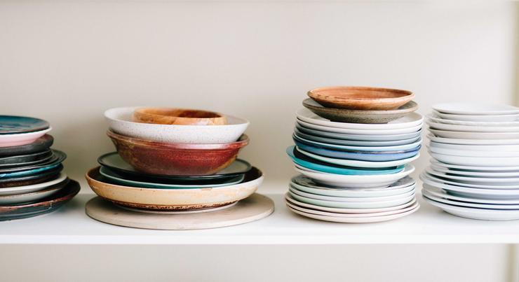 Не забывайте замачивать тарелки после еды