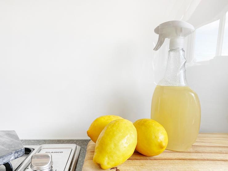 Лимонный сок - натуральный растворитель жира