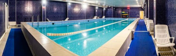 Глубина бассейна, где погибла женщина, - 1 метр 60 см. Фото: © Фитнес клуб Jump