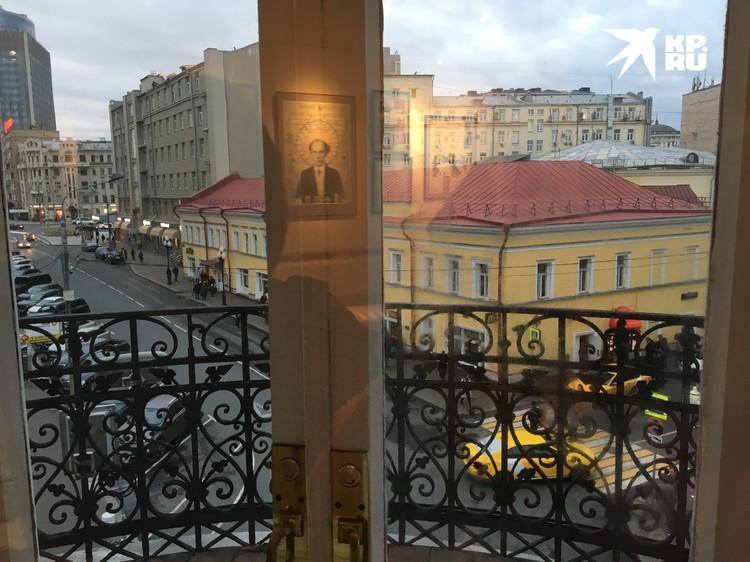 Вид из окна квартиры-музея