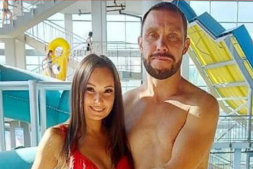 София со своим сожителем Михаилом Серовым.