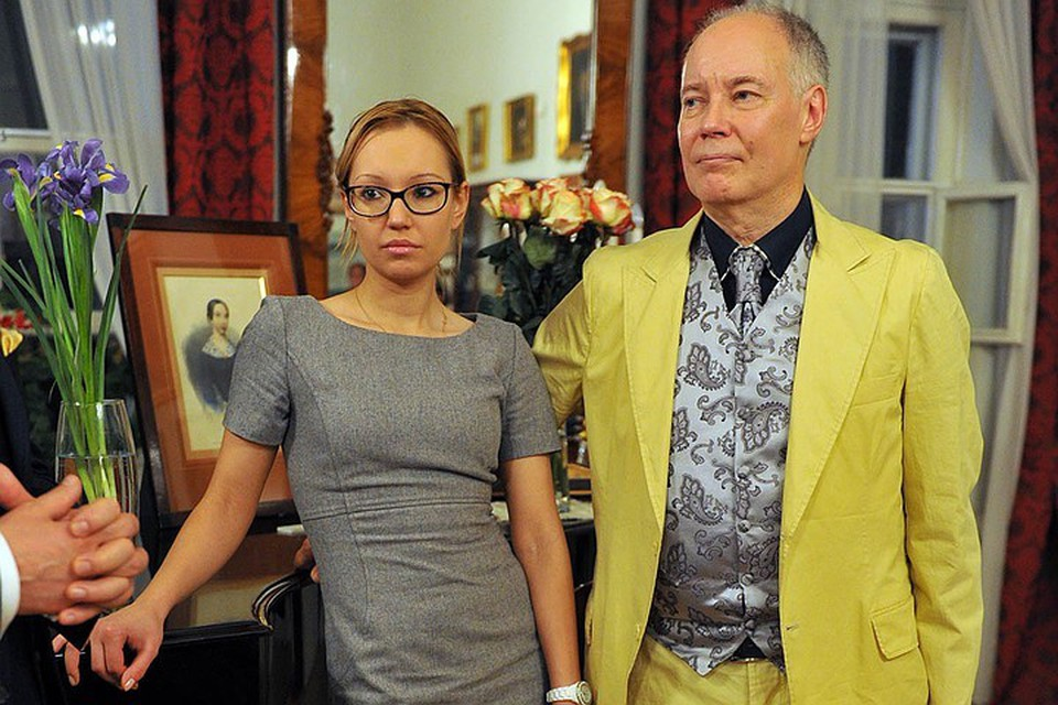 Владимир Конкин с дочерью Софией.