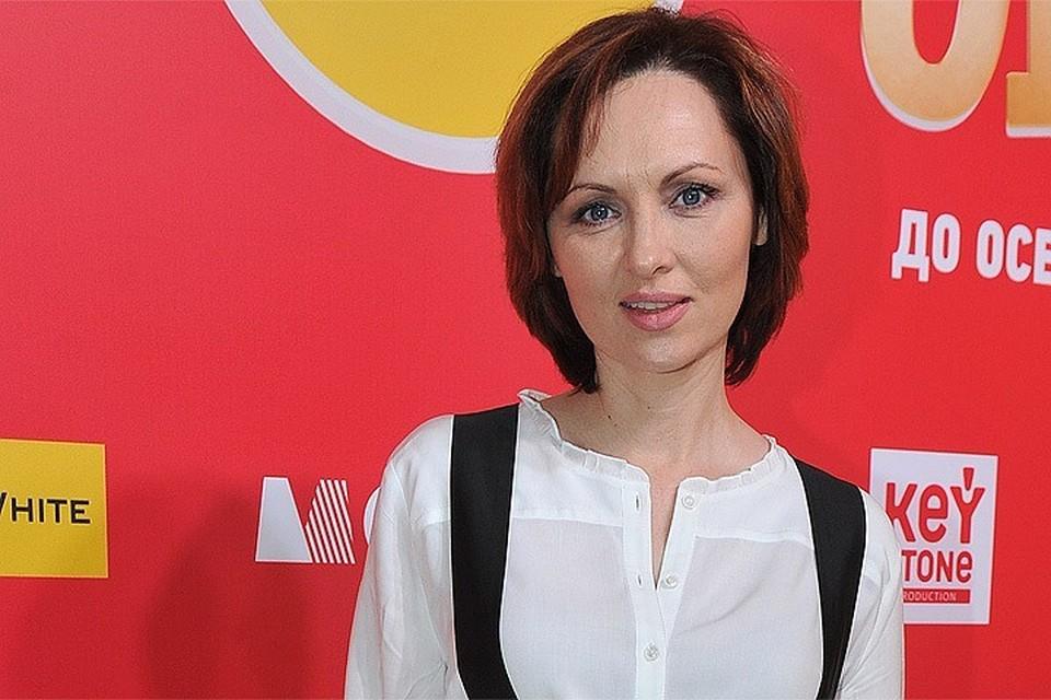 Актриса Елена Ксенофонтова.