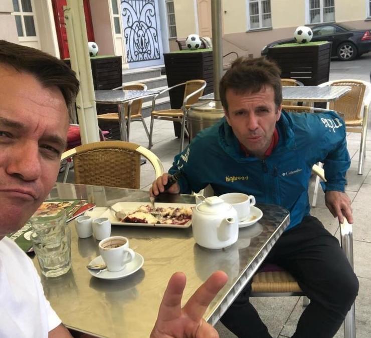 Несколько лет назад Владимир и Андрей отдыхали в Тае
