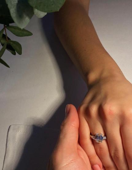 Мария похвасталась кольцом от Байсарова