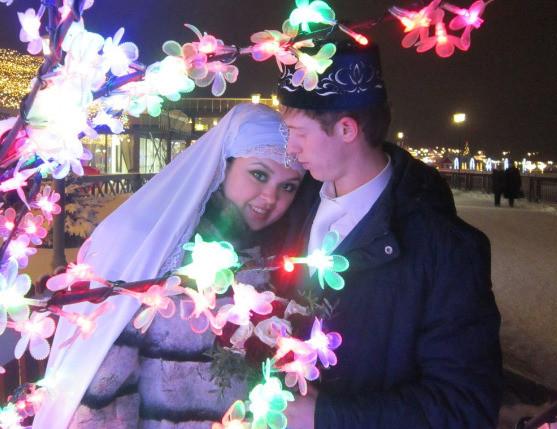 Пара поженилась четыре года назад