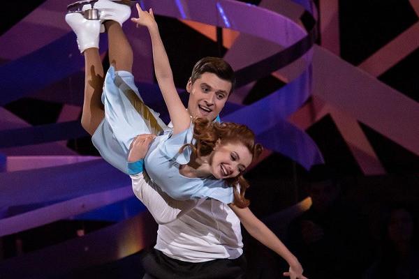 Ольга работает в паре с Александром Энбертом