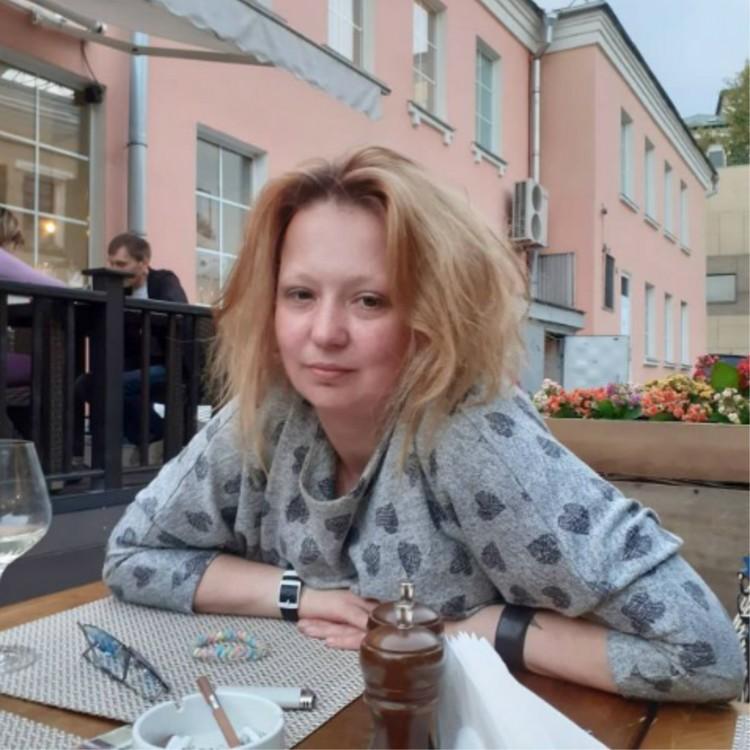 Внучка народной артистки Елена Королева. Фото: Личный архив