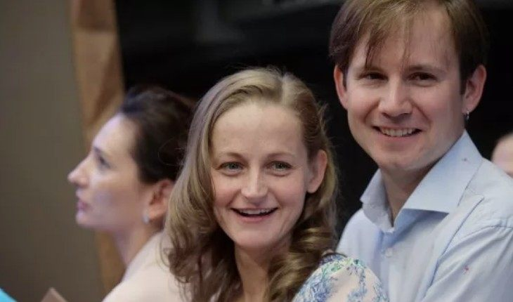 Дарья Сексте и Дмитрий Марин