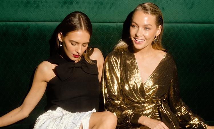 От мерцающих платьев до праздничных пижам: лукбуки новогодних коллекций