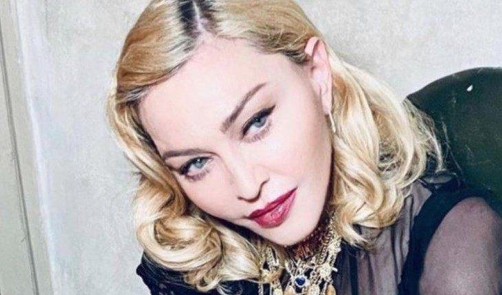 На фото: Мадонна