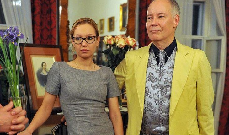 София Конкина с отцом