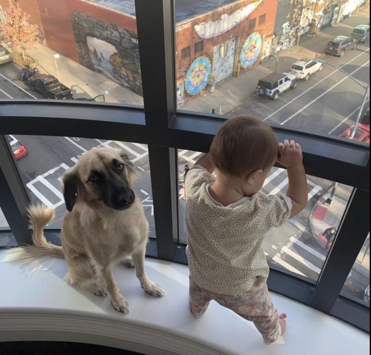 Ольга Зуева поделилась снимком 9-месячной дочки Оды, которую она родила от Данилы Козловского. Фото: Инстаграм.