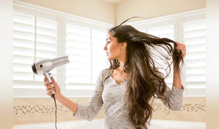 Хорошо высушивайте волосы перед выходом на мороз