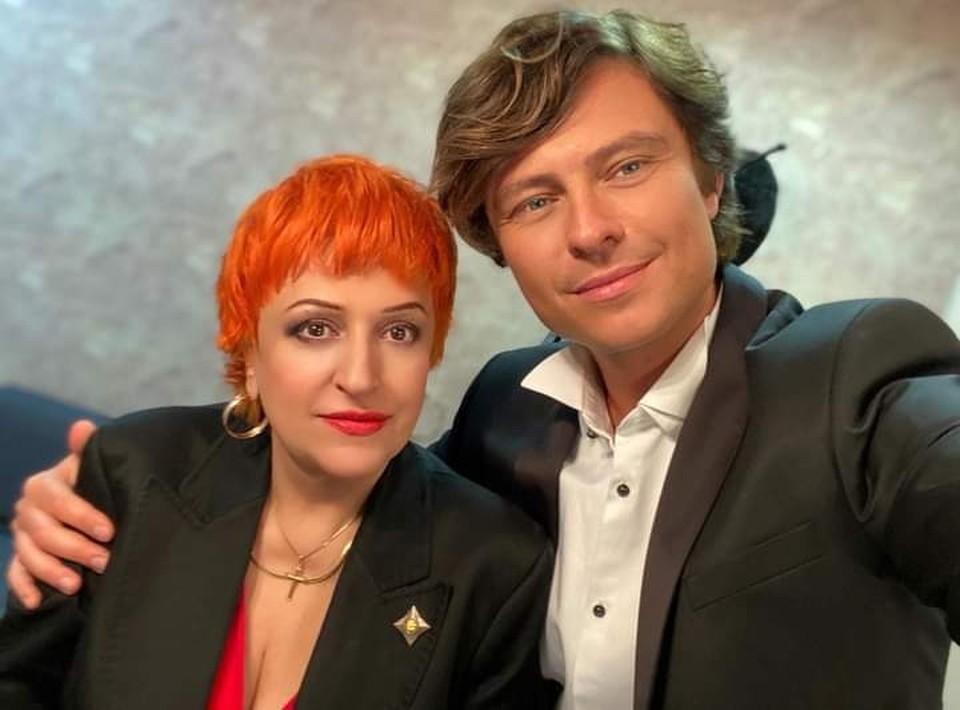 Прохор Шаляпин и Алла Пеняева.