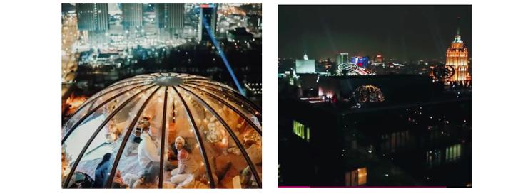 Вигвам на крыше отеля