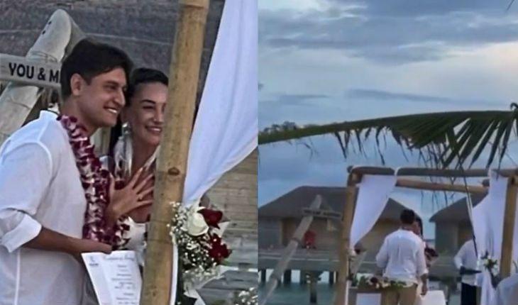 Бузова и Манукян зарегистрировали свой брак на Мальдивах