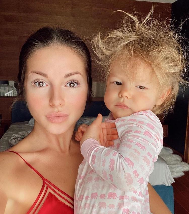 Нюшу вполне устраивает, что ее дочка будет ассоциироваться с мультиком «Король Лев»