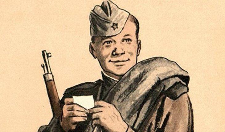 Стрелец как Василий Тёркин – балагур и отважный боец