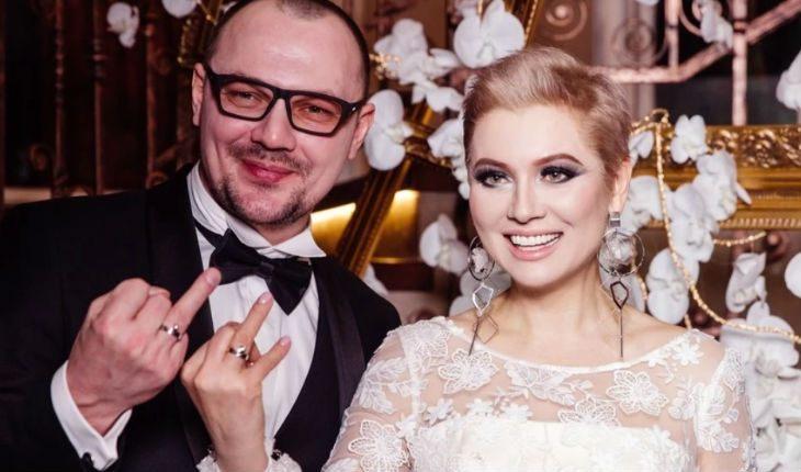 Лена Ленина с мужем