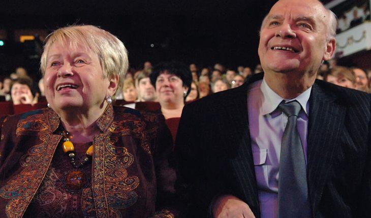 Александра Пахмутова и Николай Добронравов