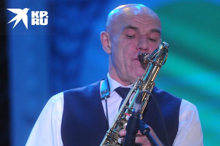 Сергей Мазаев во время концерта