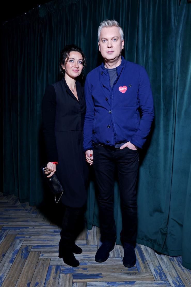 Сергей Светлаков с супругой Антониной Чеботаревой