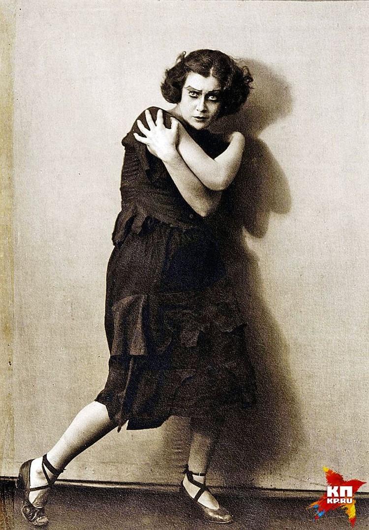 Любовь Орлова в 1926 году получила роль Периколы в оперетте Оффенбаха. Фото: Собрание Александра Добровинского
