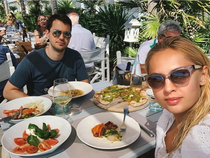 Янина с мужем Александром
