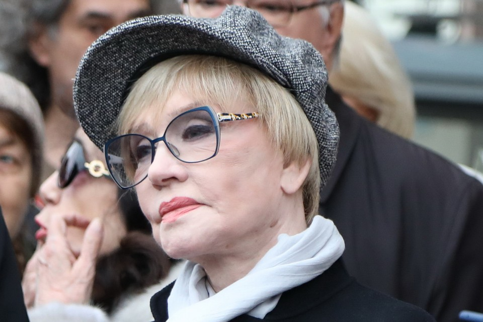 Вера Алентова.