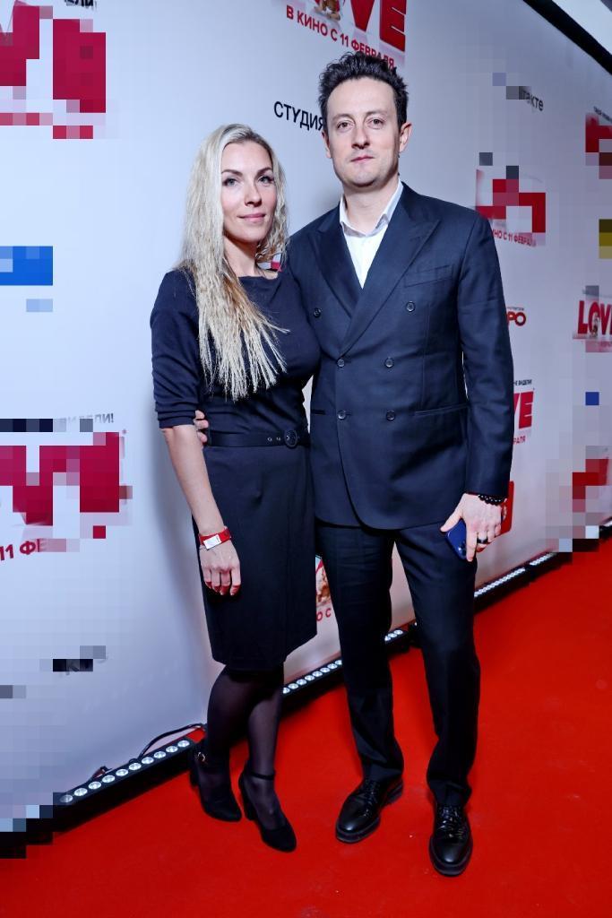 Стас Ярушин с женой Аленой