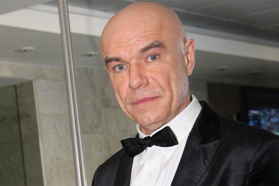 Музыкант Сергей Мазаев.