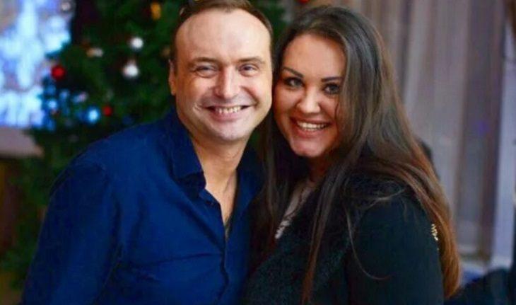 Марк Горонок с женой